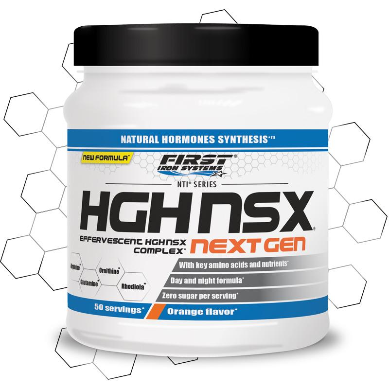 pot de hgh nsx Next Gen de NTI series