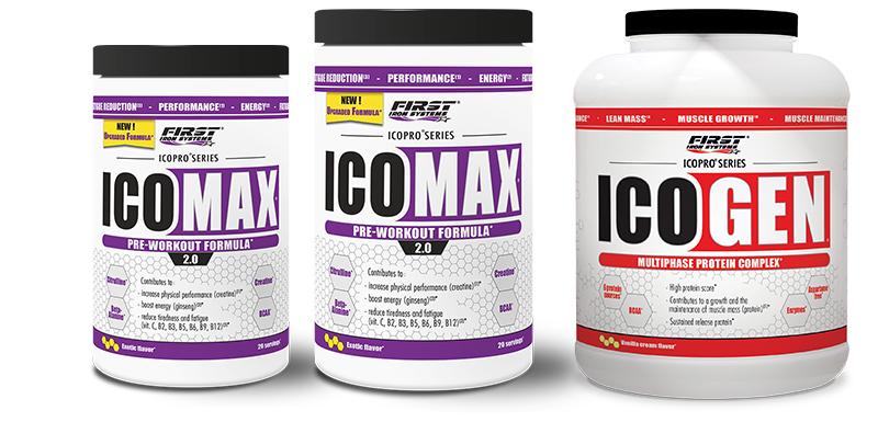 pack de 2 Icomax 2.0 et Icogen 1000g