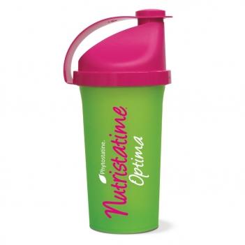 Shaker Nutristatine vert et rose en cadeau