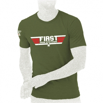 T-shirt First Iron Systems ARMY kaki