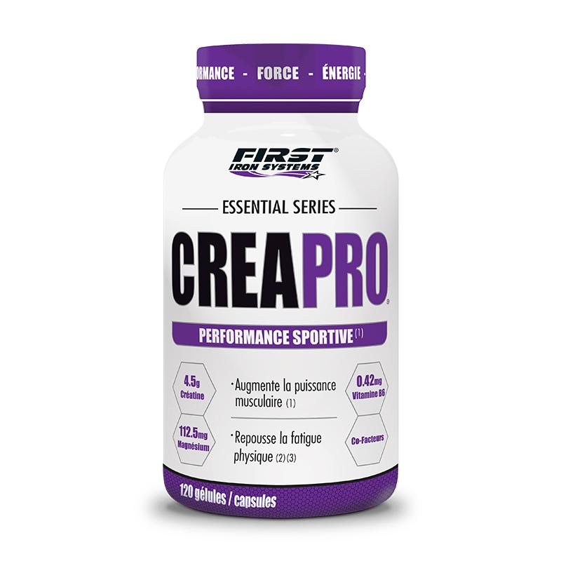 pot de creapro, Créatine monohydrate de haute qualité pour des résultats optimums