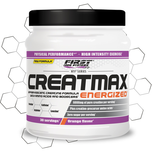 pot de Creatmax energized de NTI series