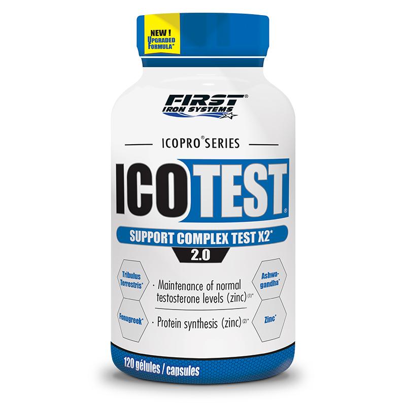 pot de Icotest, Complexe de soutien – Taux de testostérone¹