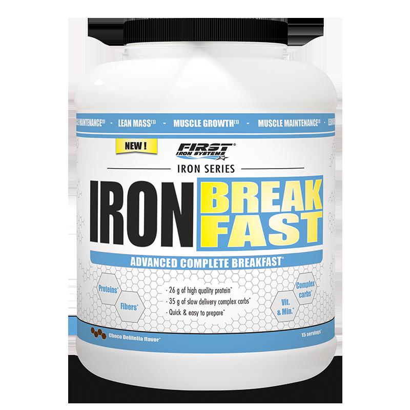 pot de iron breakfast, petit déjeuner nutritif complet et équilibré