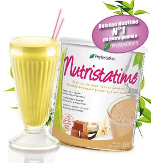 Nutristatime, boisson nutritive numéro 1 de notre gamme