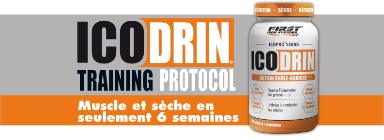 Icodrin training protocol